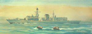 HMS Somerset on anti piracy duty