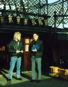 HMS Victory, quarter deck