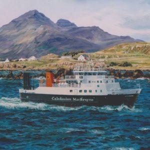 Lochnevis off the Isle of Muck
