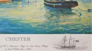 Chester 1863 print