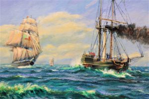 Sirius paddle steamer