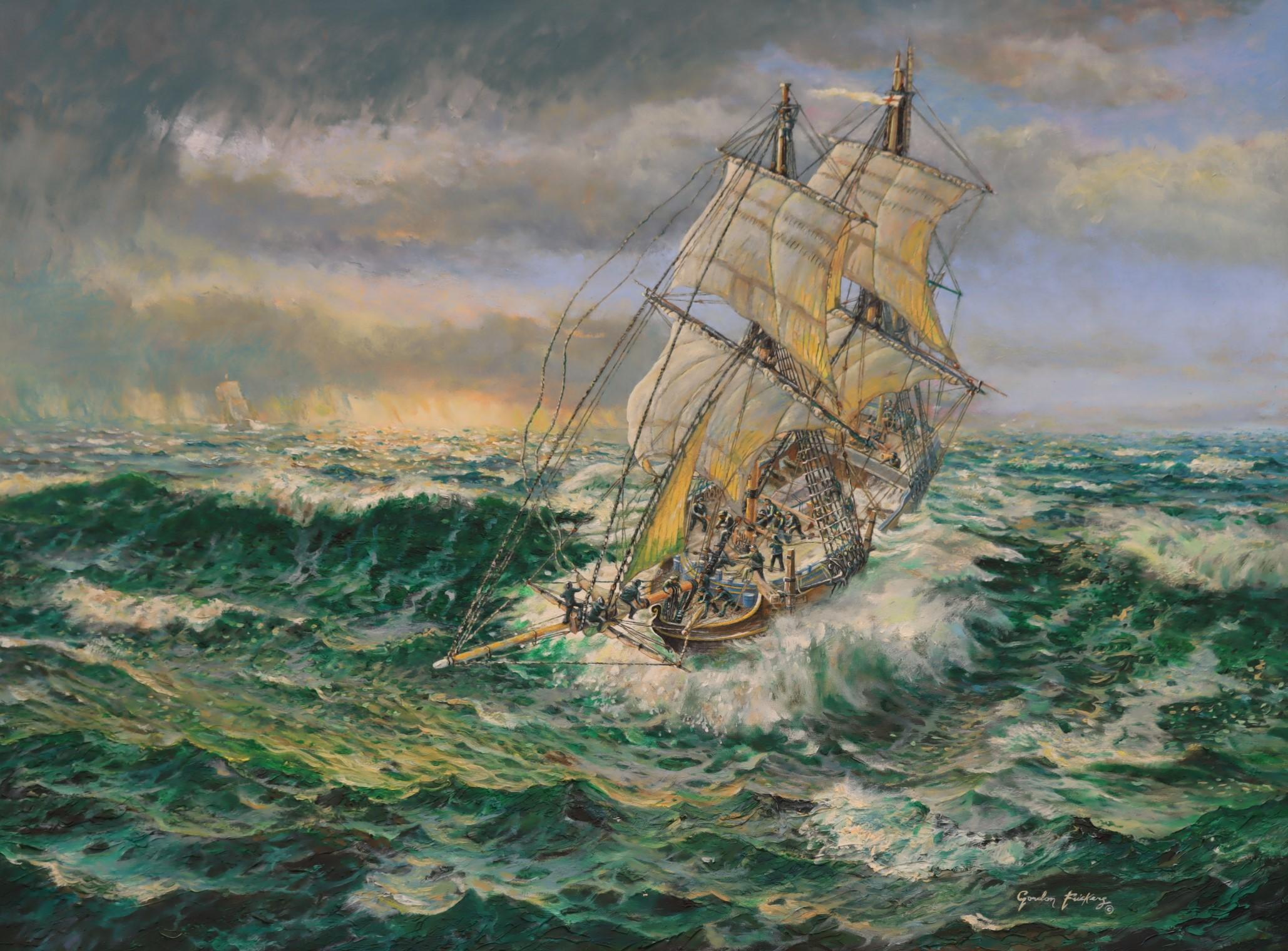 Nelson, HMS Racehorse
