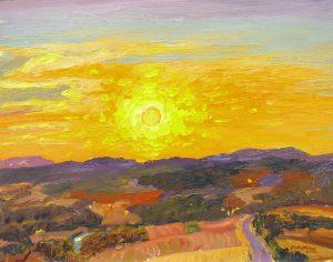 Sunset painting 08.08.06