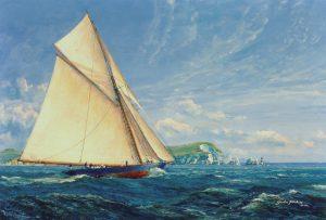 Royal Yacht Britannia, definitive painting